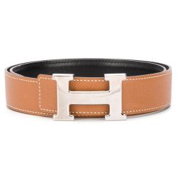Hermès Brown H Buckle Belt SOLD