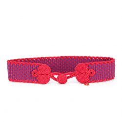 Yves Saint Laurent Rive Gauche Woven Belt