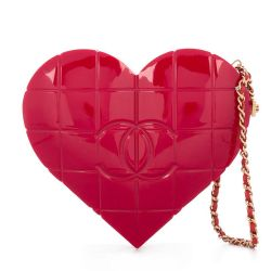 Chanel Heart Minaudière