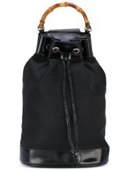 Gucci One Shoulder Drawstring Bag