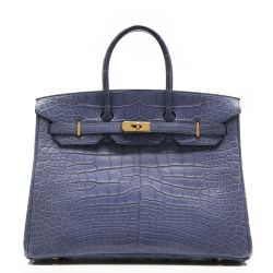 Hermes Alligator 35cm Birkin Bag