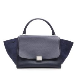 Céline Navy Trapeze Bag