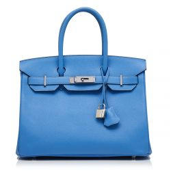 Hermès Paradise Blue 30cm Birkin Bag SOLD