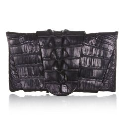 Balmain Crocodile Clutch