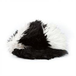 Chanel Vintage Furry Cap