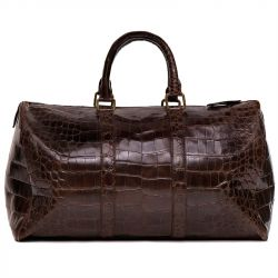 Ralph Lauren Vintage Large Crocodile Bag