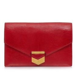 Hermes Vintage Lizard Skin Clutch Bag