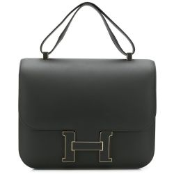 Hermès Limited Edition 29cm Cartable Constance Bag