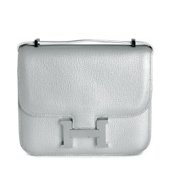 Hermes Small Silver Constance Bag