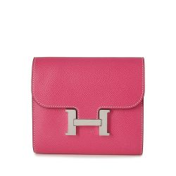 Hermes Rose Tyrien Constance Compact