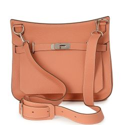 Hermes Jypsiere 34 Leather Bag