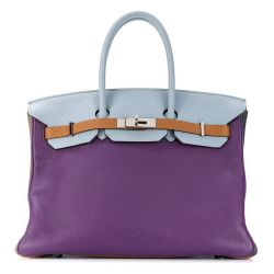 Hermes Tri-Colour Birkin Bag