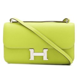 Lime Green Hermes Constance