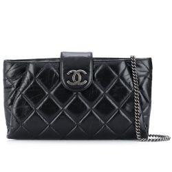 Chanel Quilted Calfskin Shoulder Bag