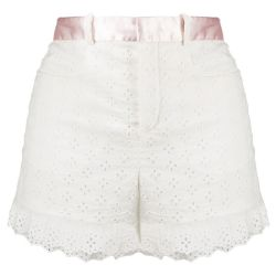 Chloe Milk White Shorts