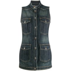 Chanel Sleeveless Denim Gilet Jacket