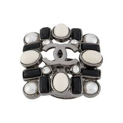 Chanel CC Embellished Ring