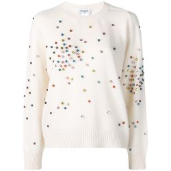 Chanel Cashmere Embellished Jumper