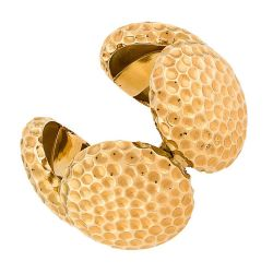 Chanel Gold Oversized Cuff Bracelet SOLD