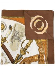 Armes De Chasse scarf by Philippe Ledoux in 1970