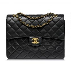 Chanel Leather Double Flap Square
