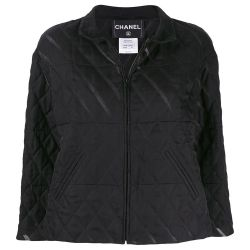 Chanel Black Quilted Jacket