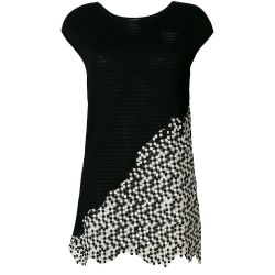 Chanel Cubic Textured Top
