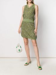 Chanel Green Knit Twinset
