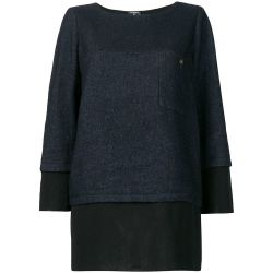 Chanel Layered Straight Blouse