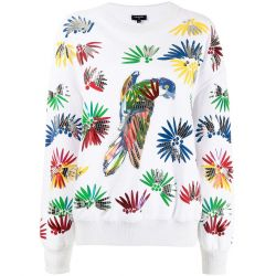 Chanel Parrot Cotton Pullover