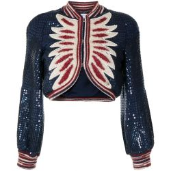 Chanel Wool 2014 Pre-Fall Paris Dallas Collection Cropped Cardigan