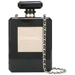 Pre-owned Chanel No5 Perfume Bottle bag at Rewind Vintage Affairs