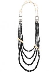 Chanel Vintage Multi-Strand Beaded Necklace