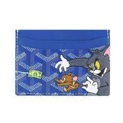Customised Goyard St Sulpice Tom and Jerry wallet