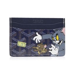 Customised Slotcard Wallet Goyard Tom and Jerry