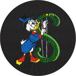 Bag Customisation Donald Duck Dollar Chello