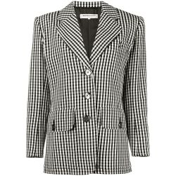 Yves Saint Laurent Gingham Blazer