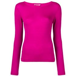 Yves Saint Laurent Fuchsia Cashmere Top