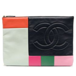 Chanel Colour Block Pouch