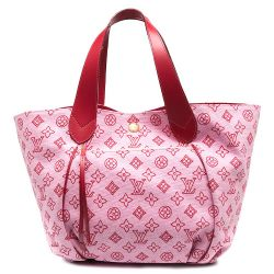 Louis Vuitton Canvas Rose & Red Monogram Bag