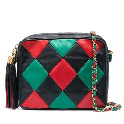 Chanel Argyle Patchwork Leather Handbag