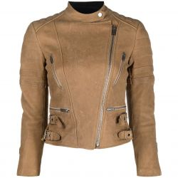 Céline Camel Leather Jacket