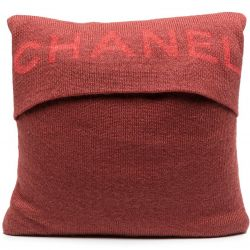 Chanel Wool Cushion