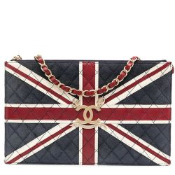 Chanel Vintage Union Jack Flat Bag
