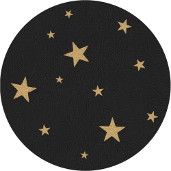 Bag Customisation Gold Stars