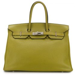 Hermès Birkin 35cm Green Togo leather