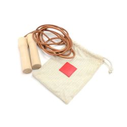 Hermes Wood and Leather Jump Rope 2013