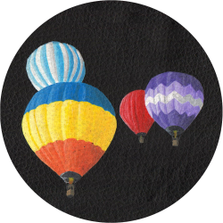 Bag Customisation Hot Air Balloons