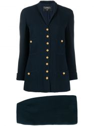 Chanel Navy Skirt Suit SOLD