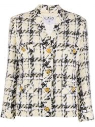 Chanel Cream Bouclé Tweed Jacket